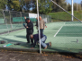 Aanleg tennisrood banen 2020
